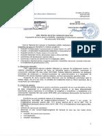 Apel Pentru Selectia Cadrelor Didactice in Grupurile de Lucru Pentru Evaluarile- Examenele Si Concursurile Nationale Din Anul Scolar 2019-2020