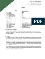 Silabo de Sistemas Contables 2019 - I