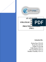 Proctor and Gamble Strategic Report