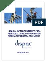 Anexo 18 b Manual de Mantenimiento Para Redes de Alta Media y Baja Tensión Convertido