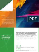 Top 5 BPM Trends for Digital Transformation