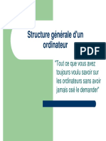 structure de ordinatore