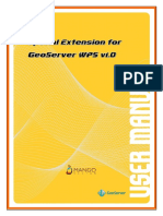 GeoServer WPS 1.0 User Manual Ko v.2.Latest 15th (1)
