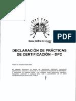 declaracionPracticasCertificacion