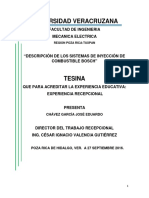 Descripcion de Los Sistemas de Inyeccion de Combustible