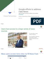 [Training] [Global] Google Efforts to Address Fake News - 2016 Q4