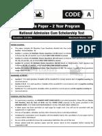 NAT Sample Paper - 2 Year 2021_Paper.pdf