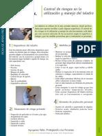 Ficha Charla 5 Min - Control de Riesgo - Taladro