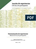 Aguilar Sistematización de Experiencias. INDESOL ADECCO