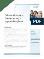 Temas Para Food Defense