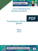 11 Evidencia 2 Describing and Comparing Products V2