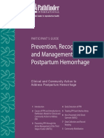 prevention postpartum hemorrhage