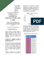 Modelo de Un Sistema de Gestión de La Energía Para Una Empresa Productora de Café