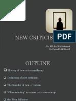 New Criticism Presentation[1]