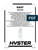 HYSTER MAST