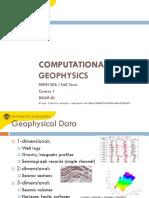 Octave Computational Geophysics - Course01