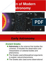 Early Astronomy and People of Astronomy