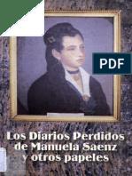 Los diarios perdidos de Manuela Saenz y otros papeles