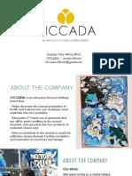 CICCADA presentation