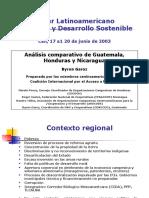 Analisis Comparativo de Guatemala Honduras y Nicaragua
