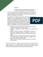 Actiividad No 1 Informe Ejecutivo