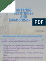 Antenna Electrical and Mechanical Tilt