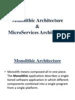 Monolithic Architecture&Microservice Architecture.pptx