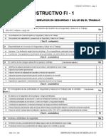 3. Formatos FI Gestion SG SST