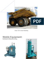 Oil Filtration in Mining