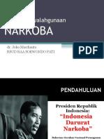 Bahaya Penyalahgunaan NARKOBA_2018.pptx