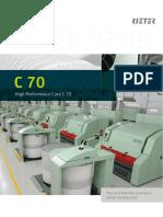 Rieter c70 Card Brochure 2810 v3 89526 En