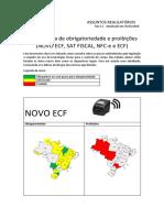 obrigatoriedades da NFCe Brasil