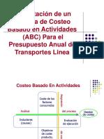 Presentación - Costeo Basado en Actividades