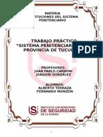 Trabajo Práctico - Sistema Penitenciario Tucumano