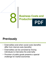 Business Costs and Productions