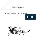 6Fest Sponsorship Proposal