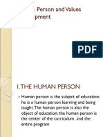 Chapter 3 Human Person and Values Development