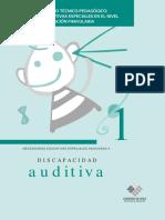 Guía De Apoyo Técnico Pedagógico Necesidades Educativas Especiales Asociadas A Discapacidad Auditiva (Preescolar).pdf
