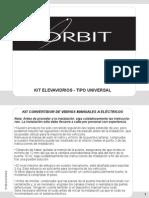 Orbit Kit de Conversion Manual Elevavidrios