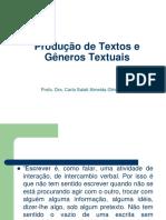 produção de textos tipologia textual 2019.ppt