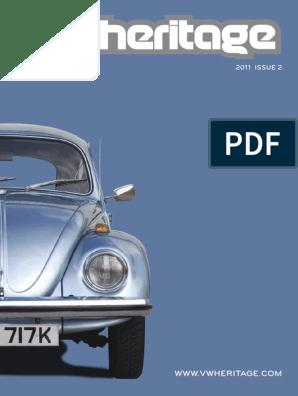 VW Karmann Ghia 1500 Genuine Fram Fuel Filter Service Replacement