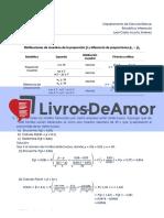 Livrosdeamor.com.Br 3 Distribucion Muestral de Proporciones y Diferencias de Proporciones