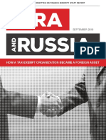 The NRA & Russia How a Tax Exempt Organization Became a Foreign Asset