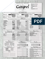BNS Gangrel Character Sheet