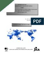 AGENCIA DE COOPERACIÓN INTERNACIONAL DEL JAPÓN-JICA