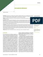 Epidemiología demencias