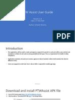 PTWAssist Userguide v2.0