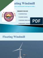 Floating Wind Mills Minor Project PDF