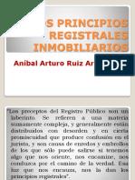 Los Principios Registrales Inmobiliarios - Ruiz
