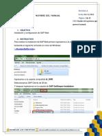 Instalación y Configuración de Sap Web